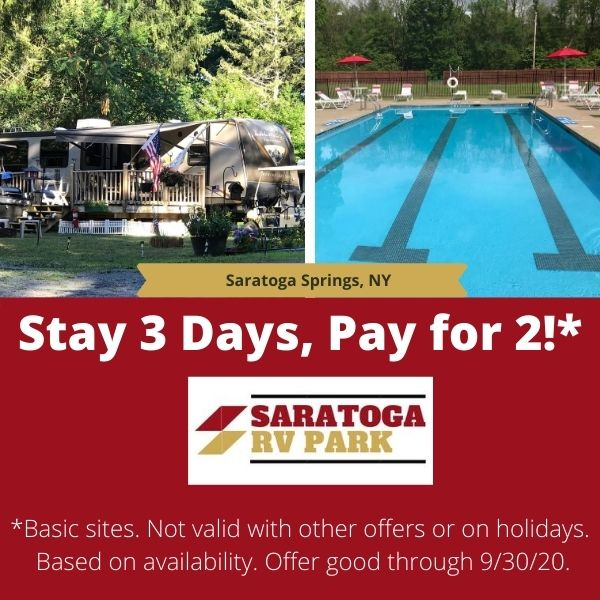 Labor Day Weekend Special - Stay 3 Days, Pay 2 Days