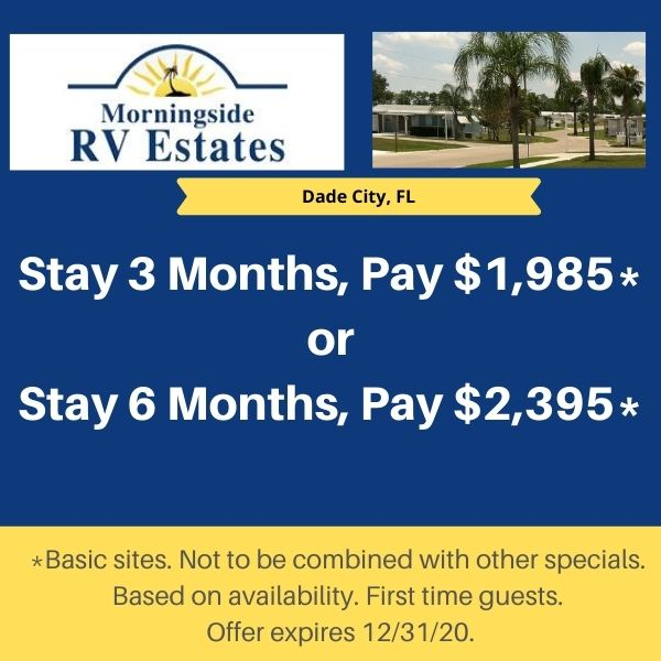 Stay 3 Months, Pay $1,985 or Stay 6 Months, Pay $2,395